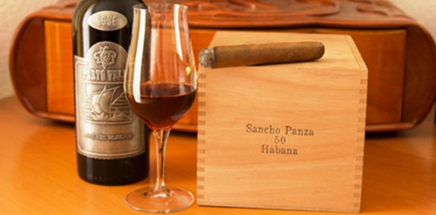 Pairing a Vintage 1936 Portwine with different cigars
